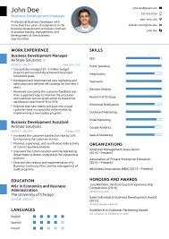 Best Resume Samples 60 Professional Resume Templates As They Should Be [60] 2