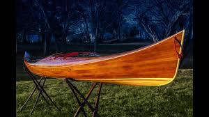 making the petrel play a cedar strip kayak