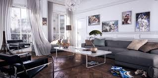 contemporary gray living room furniture. Contemporary Room White Modern Living Room Gray Chaise Lounge Sofa For Contemporary Furniture O