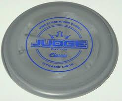 New Dynamic Discs Classic Soft Burst Judge 174g Gray Putter
