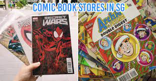 7 Comic Book Stores In Singapore With Vintage Copies, New Releases, &  Collectible Merch