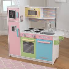 Kid Craft Retro Kitchen Kidkraft Uptown Espresso Play Kitchen 53260 Play Kitchens At