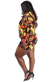 plus size short sets lively tribal print blazer plus size short set plussizefix