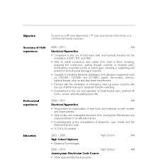 Maintenance Electrician Job Description Resume Sample Cover Letter