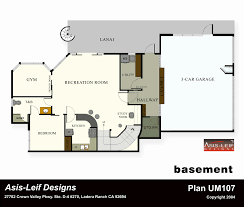 Basement Apartment Floor Plans New House Plans With Walkout
