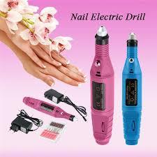 <b>1 set Mini Portable</b> Pen Shape Electric Nail Drill Machine Art Salon ...