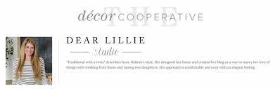 Our Decor Cooperative is LIVE! | Dear Lillie | Bloglovin'