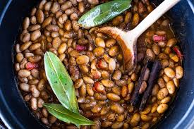 mexican pinto beans feasting at home