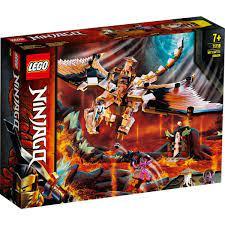 Đồ chơi lắp ráp mô hình LEGO NINJAGO Rồng thần của sư phụ Wu 71718