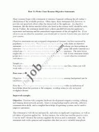 How To Word Career Objective On Resume Say Write In Examples Define