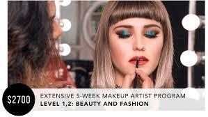 extensive 5 week makeup program beauty fashion nina