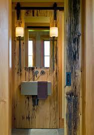 contemporary wall sconces bathroom. contemporary contemporary modern wall sconces powder room rustic with barn door hardware inside contemporary bathroom