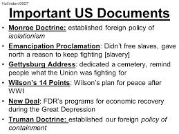 dbq essay document based questions scaffolding questions % essay  6 important us documents monroe doctrine
