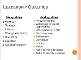 Qualities Of A Good Leader Essay Qualities Of A Good Leader Essay Custom Paper Sample
