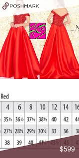 Nwt Mac Duggal Lady In Red Sizes 6 8 Lady In Red Sizes 6 8