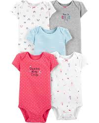 Carters Baby Size Chart For Onesies 5 Pack Princess Original Bodysuits Carters Com