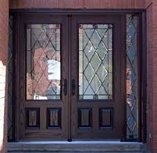 fiberglass double entry doors exterior without glass
