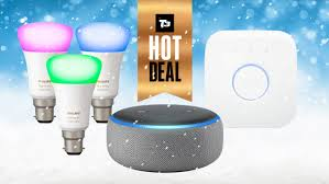 Philips Lighting Stock Market Amazon Echo Dot With Philips Hue Starter Kit Deal Is The