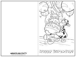 Printable Birthday Card Template Birthday Cards To Print