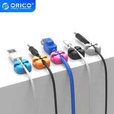 <b>ORICO Silicone Cable Organizer Wire Winder</b> Cable Holder for ...