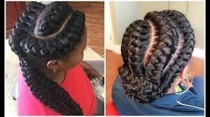 2017 Goddess Braided Hairstyles For Black Women Youtube