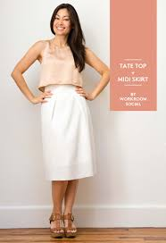 Crop Top Sewing Pattern Magnificent The Tate Top A First Look At The Free Sewing Pattern Workroom