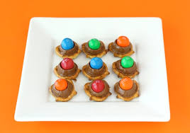 rolo pretzels with m m s make a great holiday treat or any day treat