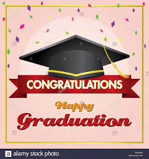 Congratulations For Graduation Congratulations On Graduation Day Stock Photo 222886868 Alamy