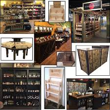 rustic wood retail product