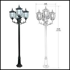 victorian outdoor lamp post to enlarge