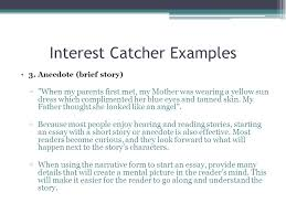 examples of anecdotes in essays cover letter anecdotal essay  anecdote examples examples of anecdotes in essays