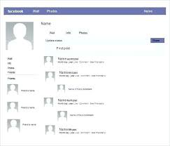 Blank Page Template Facebook Free Download Home