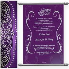 scroll invites wedding ideas swc cards in mumbai bangalore indian