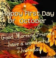 Good Morning October Quotes
