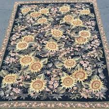 excellent inspiring design ideas sunflower area rug kitchen home and with regard to sunflower area rug popular