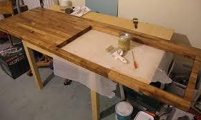 Peindre Un Plan De Travail En Bois Peindre Un Plan De Travail De