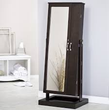 awesome mirrored jewelry armoire for your furniture and storage ideas full length mirror jewelry armoire