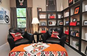 eclectic home office. Harley Davidson Home Decor Room Eclectic Office Orlando