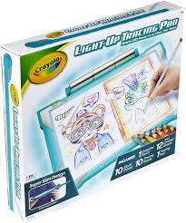 Crayola Crayola Light Up Tracing Pad Crayola Light Up Tracing Pad Pink Coloring Board For Kids