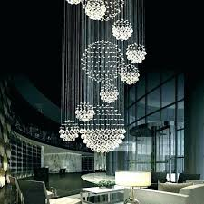 artisan lighting spiral crystal chandelier modern moon shape wave spiral staircase crystal chandelier