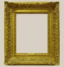 frame before restoration