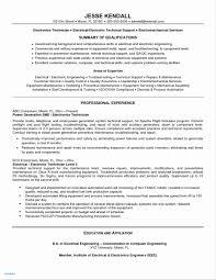 Service Tech Resume Computer Technician Resume New 22 Resume Professional Sample