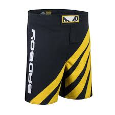 Bad Boy Mma Size Chart Bad Boy Training Series Impact Mma Shorts Black Yellow