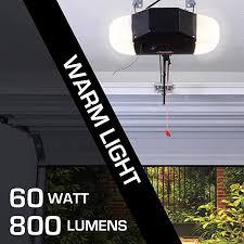 genie led garage door opener light bulb 60 watt 800 lumens made to minimize interference with garage door openers patible with all major garage