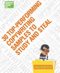Copywriting Examples Petcopywriter Included In Awai Copywriting Sample Book