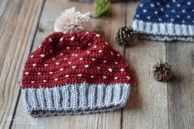 Crochet Snowfall Hat Size Baby To Adult Free Crochet