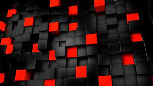 3d Black Red Wallpapers - Wallpaper Cave