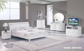 Emily Global White Bedroom Set(Discontinued)