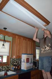 Kitchen Fluorescent Light Fixture Covers Fluorescent Lighting How To Remove Fluorescent Light Cover Plate