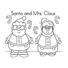 Small Picture 30 Cute Santa Claus Coloring Pages For Your Little Ones
